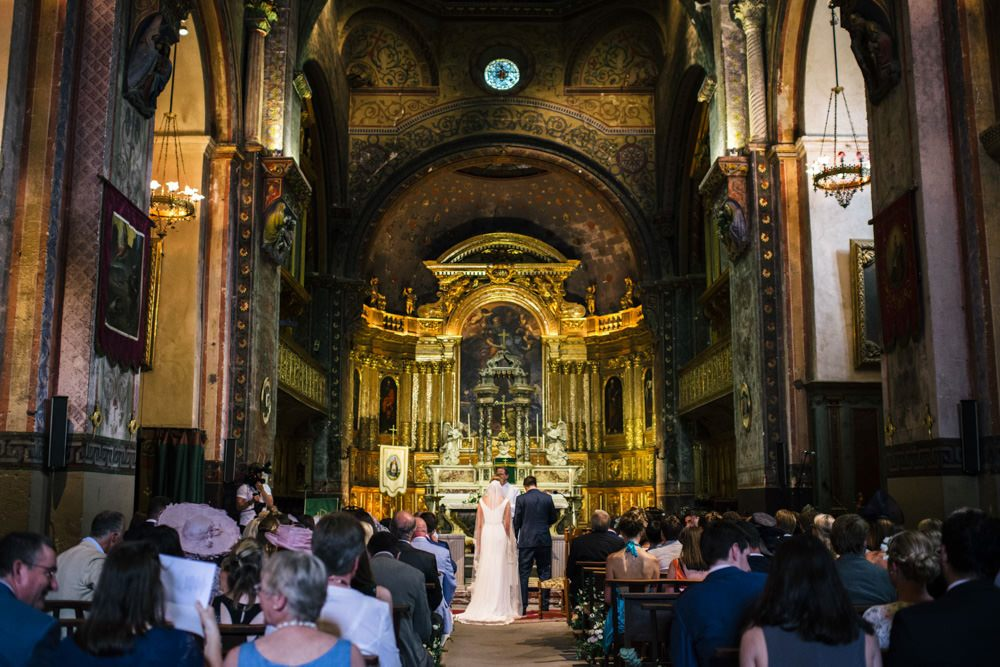 beautiful church wedding venue in France