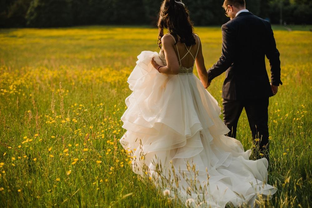 Bride in WTOO Kennedy Dress
