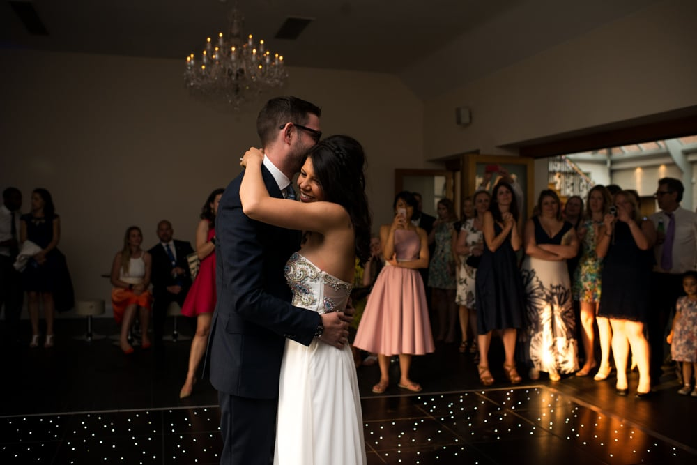 first dance at Botleys Mansion