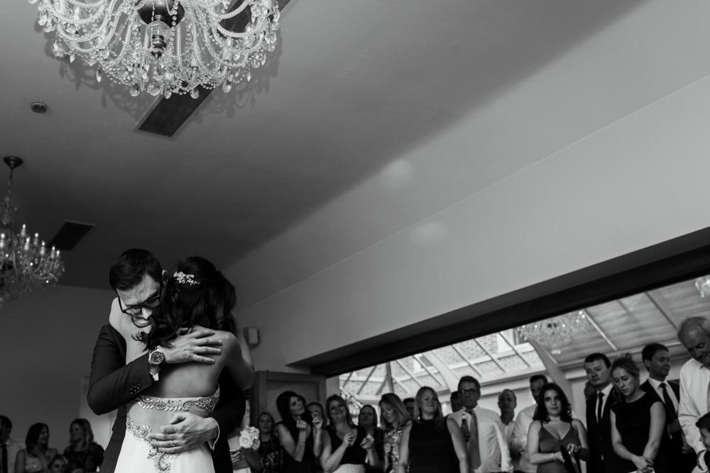 Bottleys Mansion wedding first dance