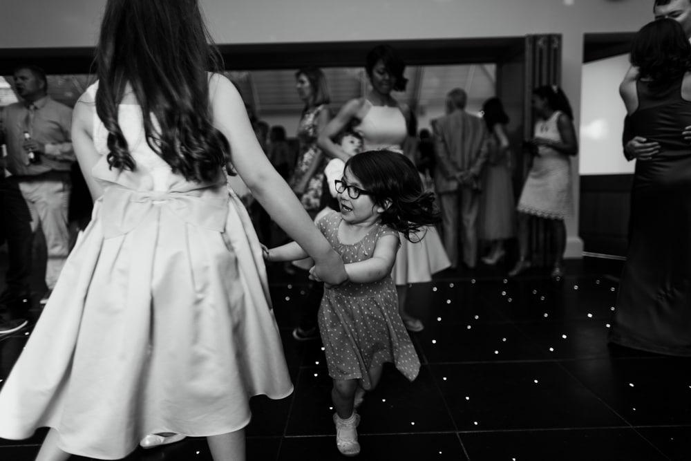 Kids on dance floor