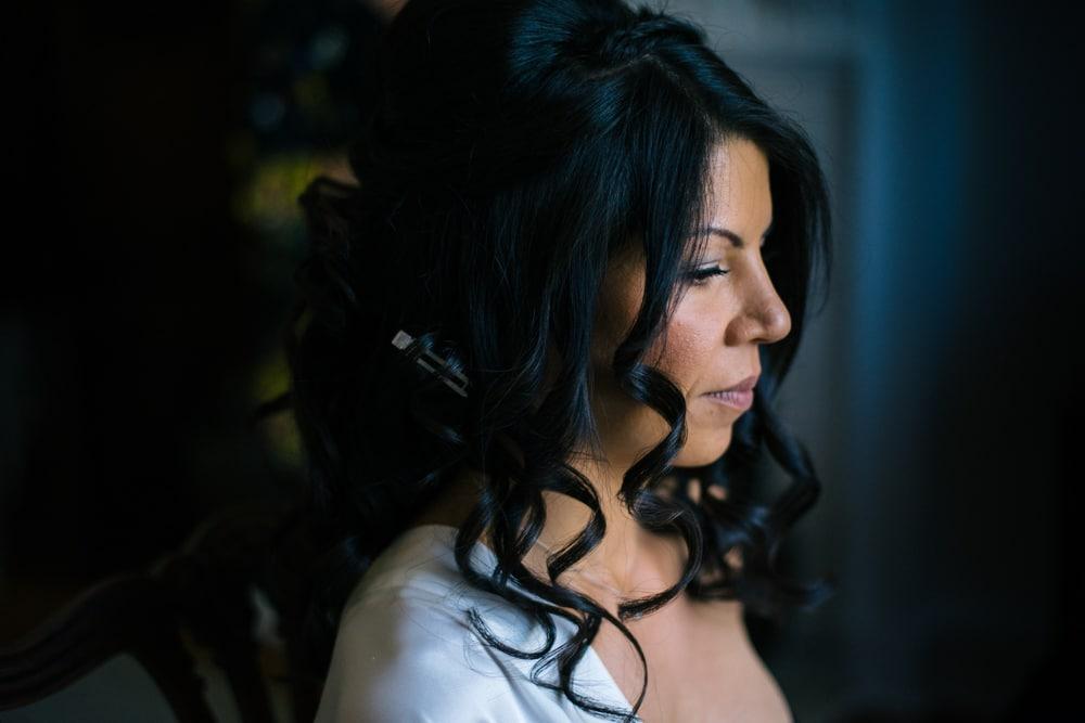 bride at Botleys Mansion