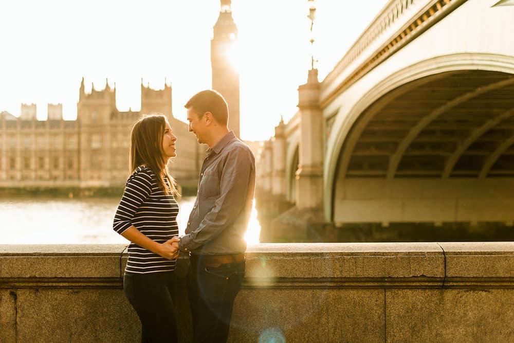 Couples Portrait session along Southbank
