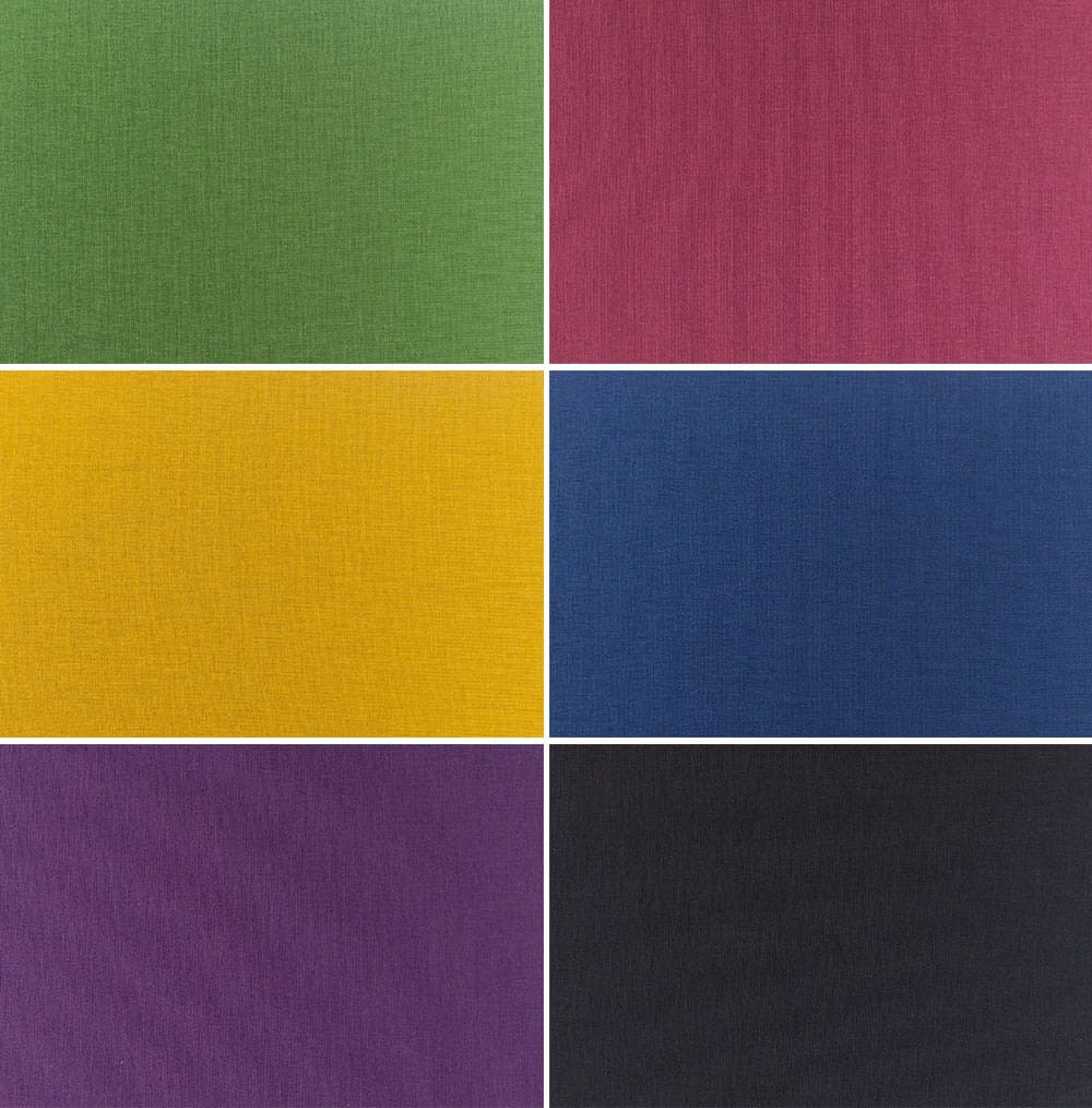 Bold fabric from folio albums