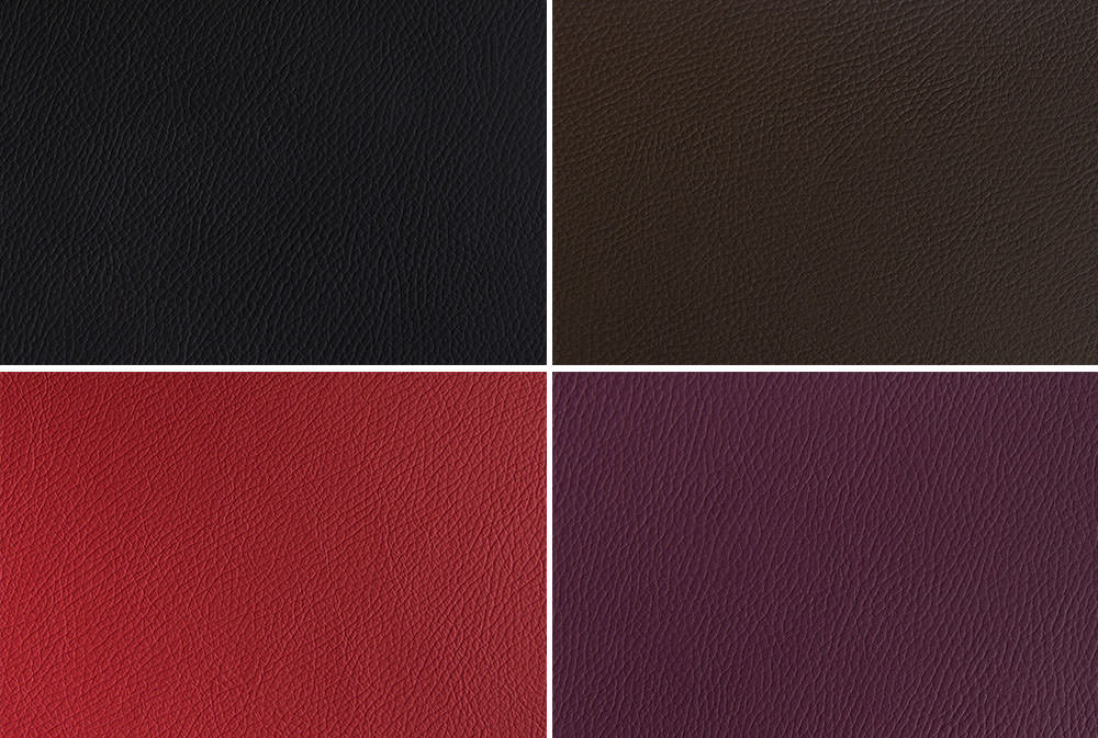 Contemporary leathers from folio albums