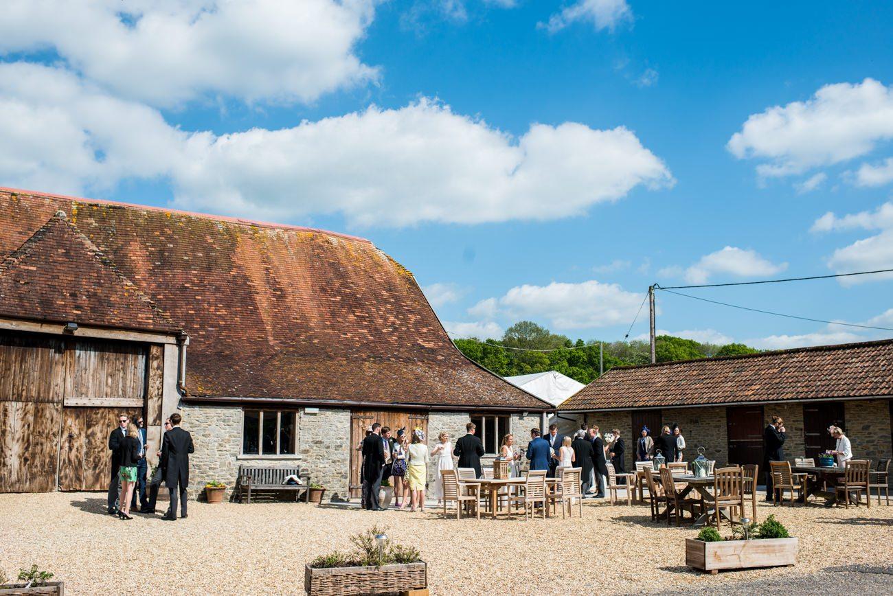 Stockbridge farm dorset wedding venue