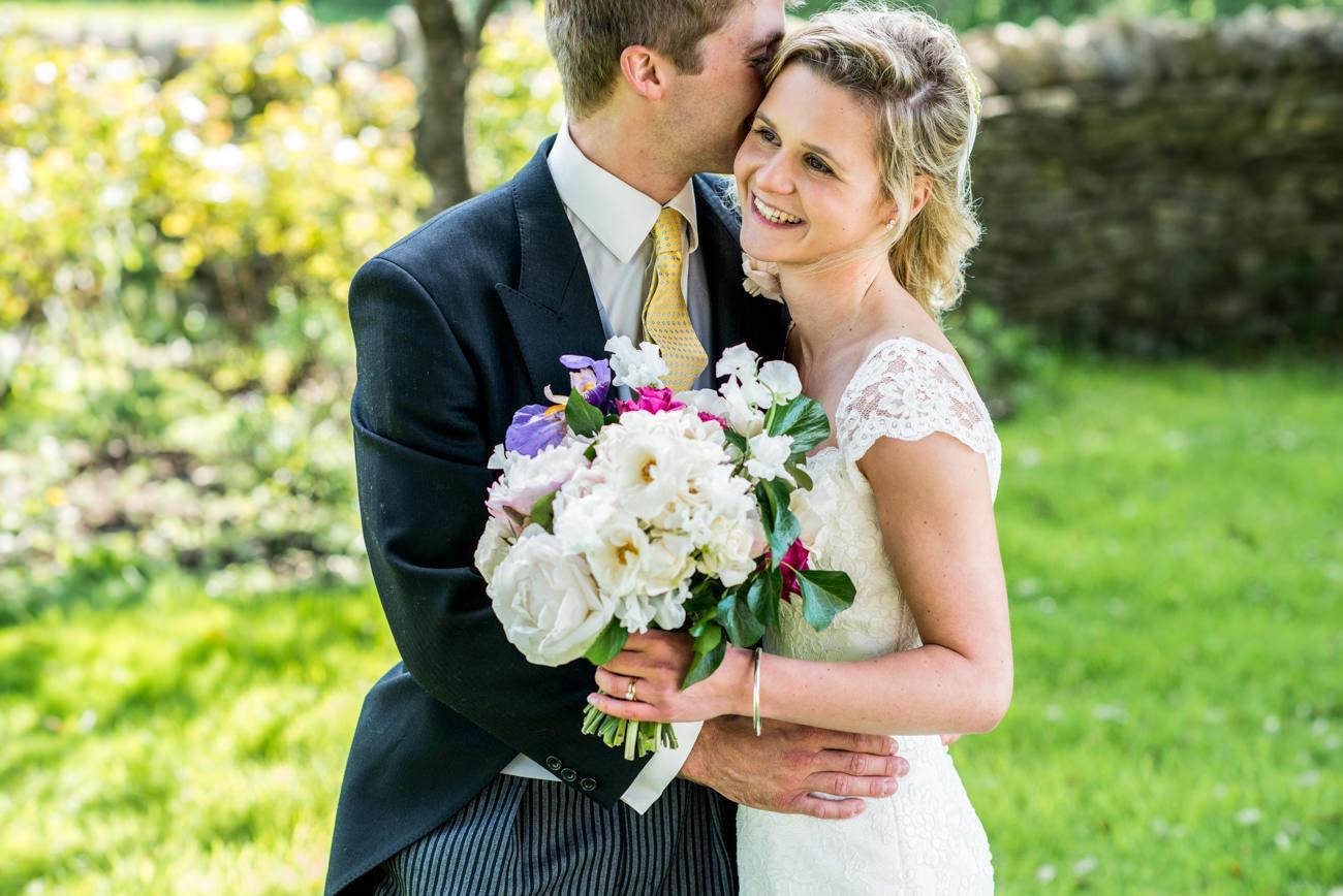 bride and groom portraits at Stockbridge farm wedding