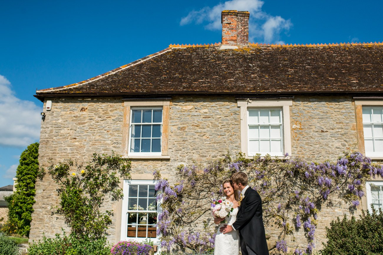 Stockbridge farm dorset wedding portraits