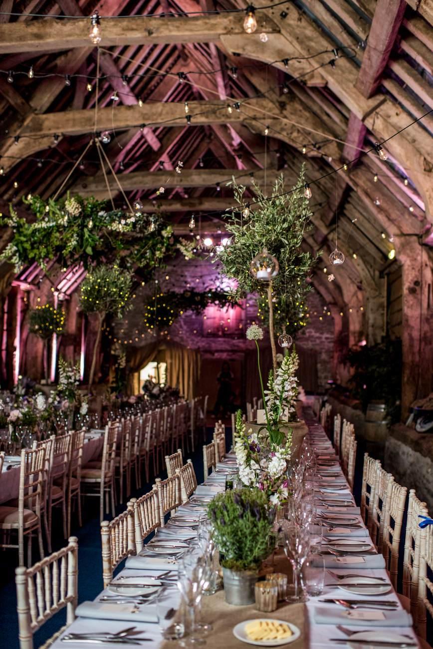 Stockbridge farm wedding decor