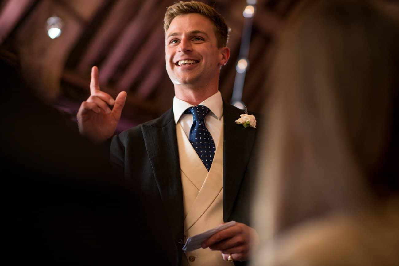 wedding speeches at Stockbridge farm