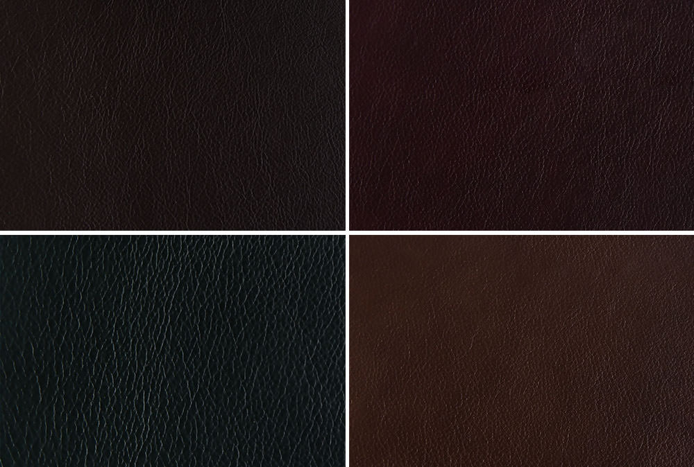 Vintage leather from folio albums