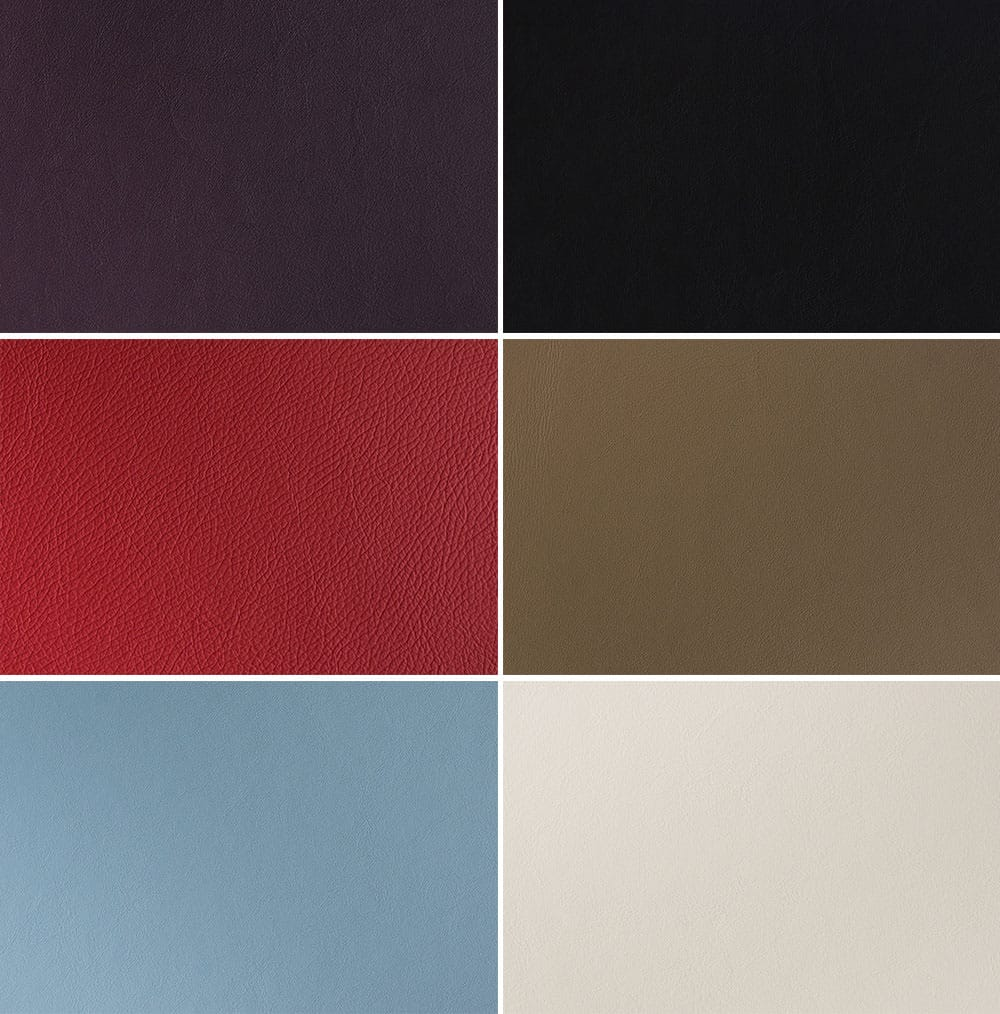 Eco leathers from folio albums