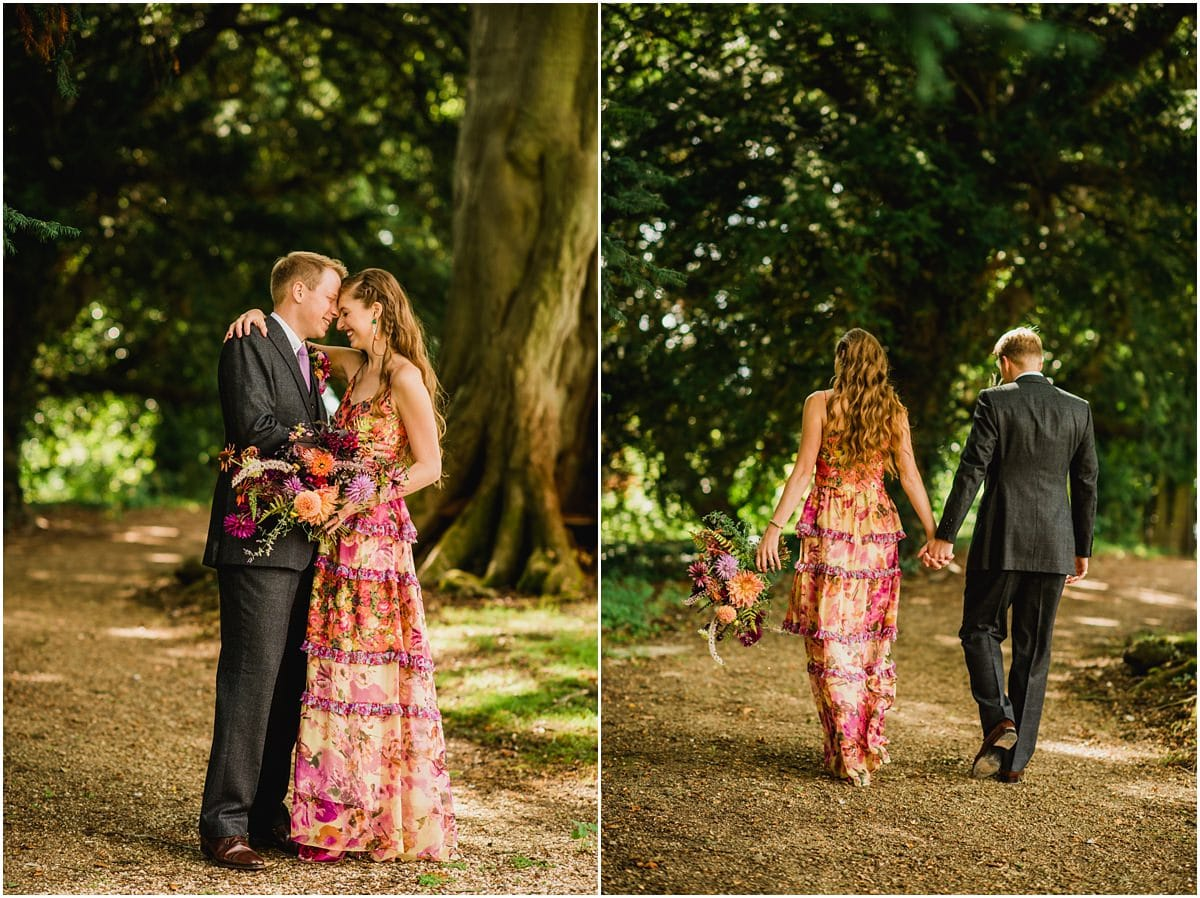 couple portraits at Aynhoe Park