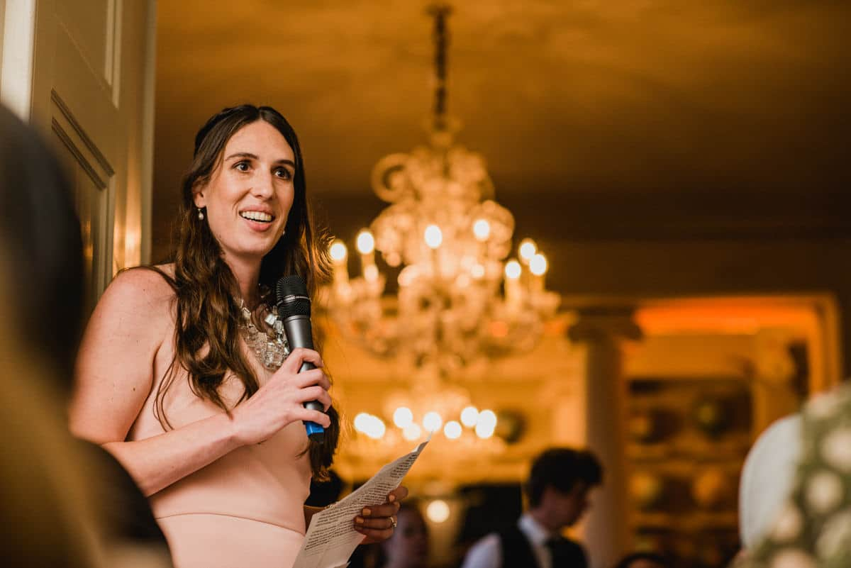 speeches at Aynhoe Park