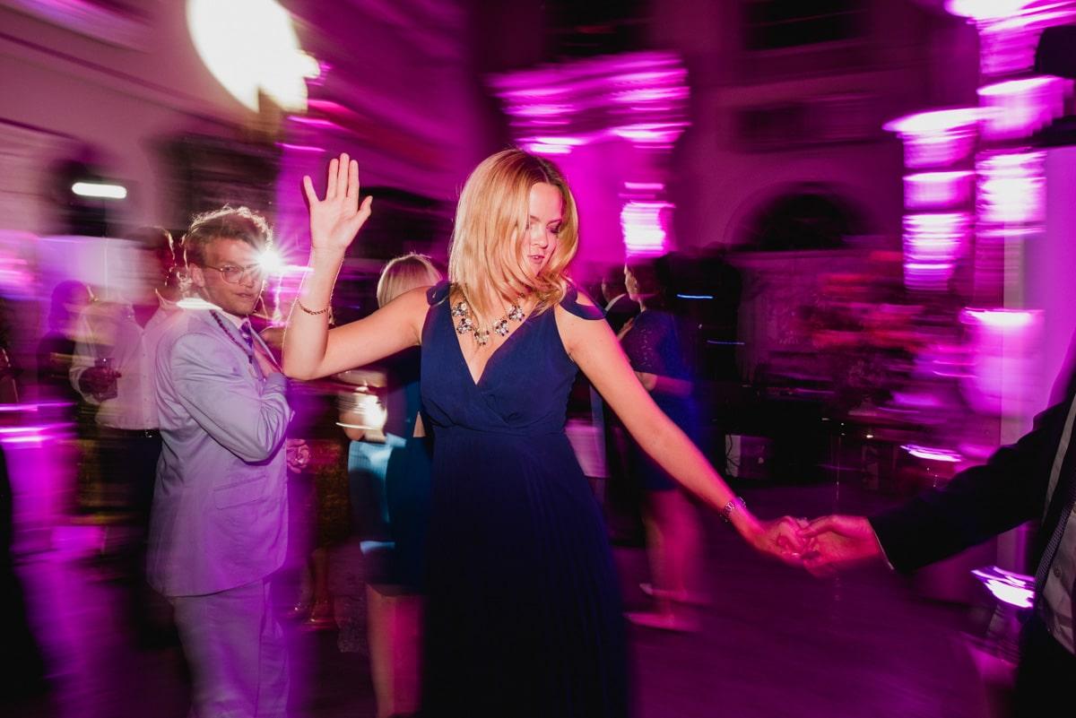 dance floor at Aynhoe Park