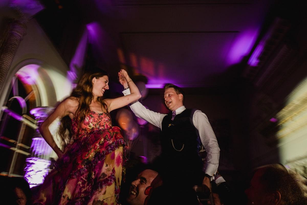Hora at Aynhoe Park wedding