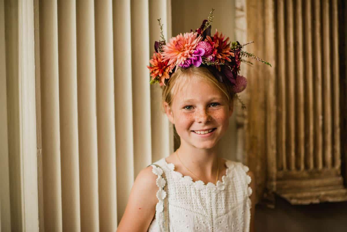 flower crown by Juliet Glaves