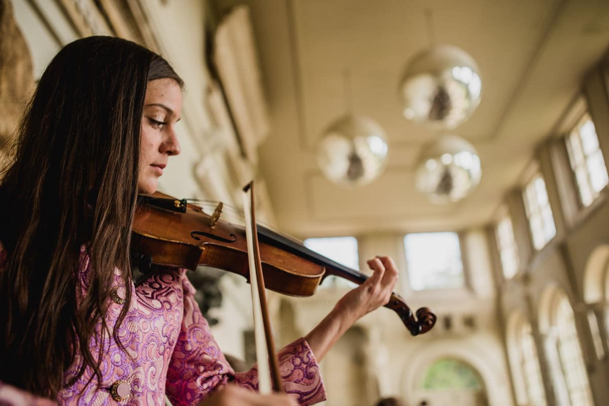 violinist at Aynhoe Park