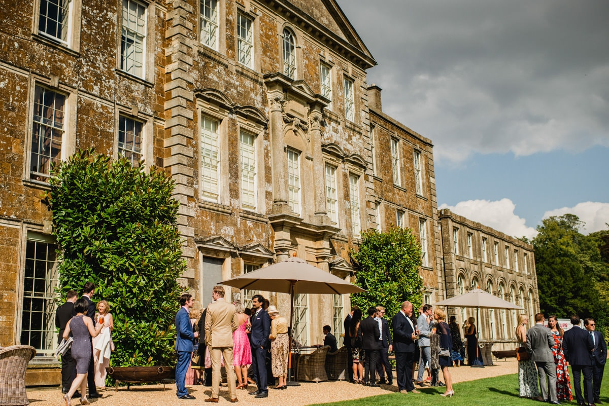 reception at Aynhoe Park