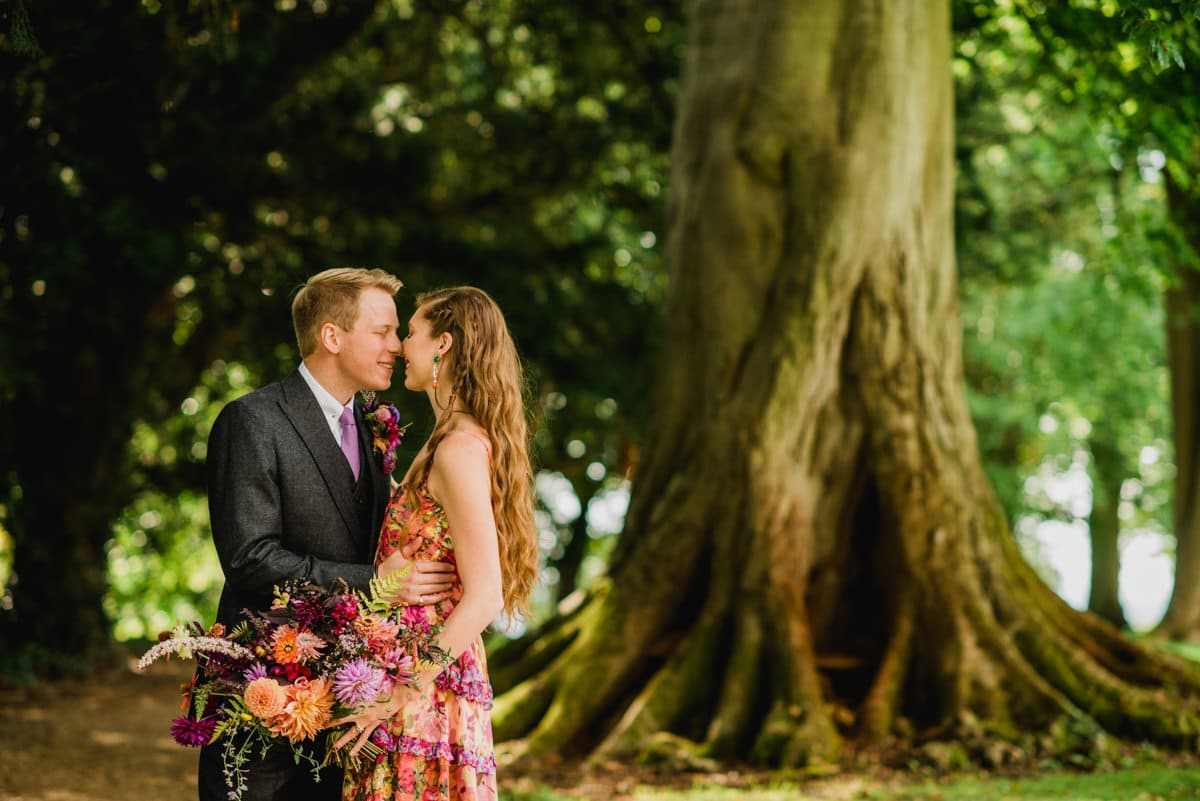 wedding portraits at Aynhoe Park