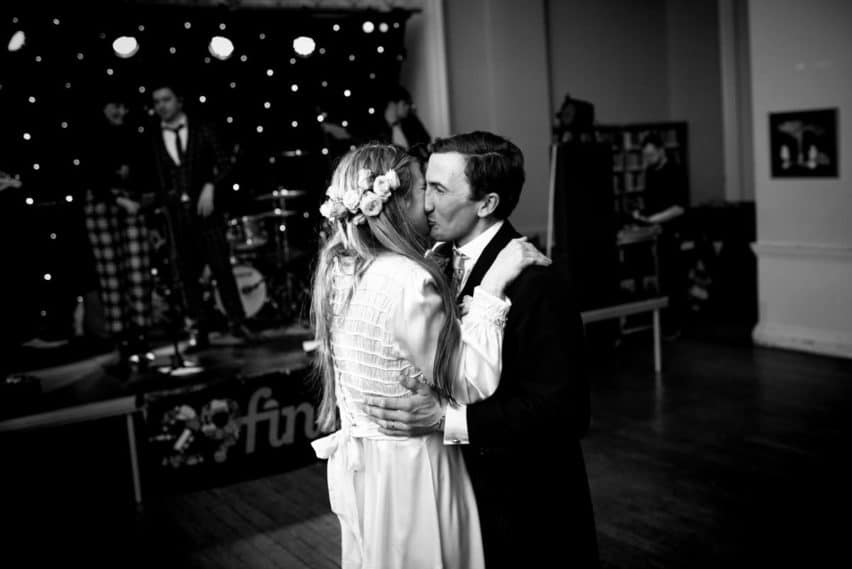 first dance at Bryanston School wedding