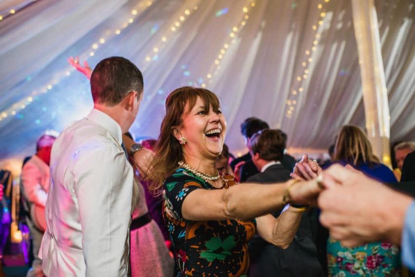 marquee wedding at Hatch House