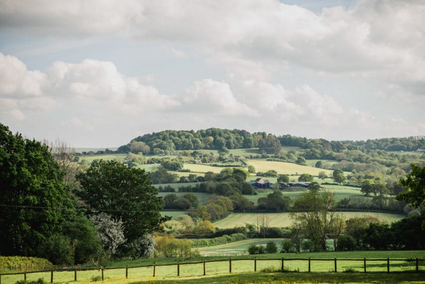 Countryside views at Hatch House