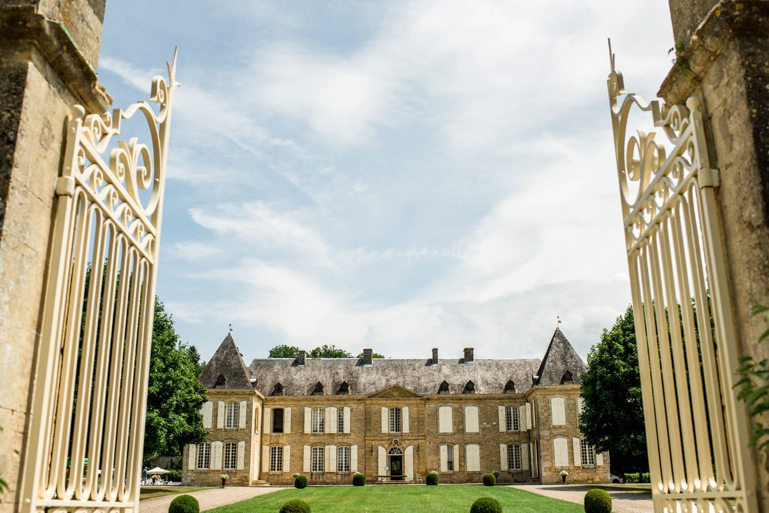 Wedding venue Chateau de Lacoste France
