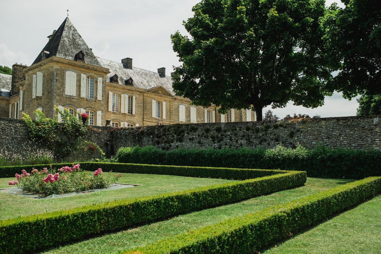 gardens at Chateau de Lacoste France