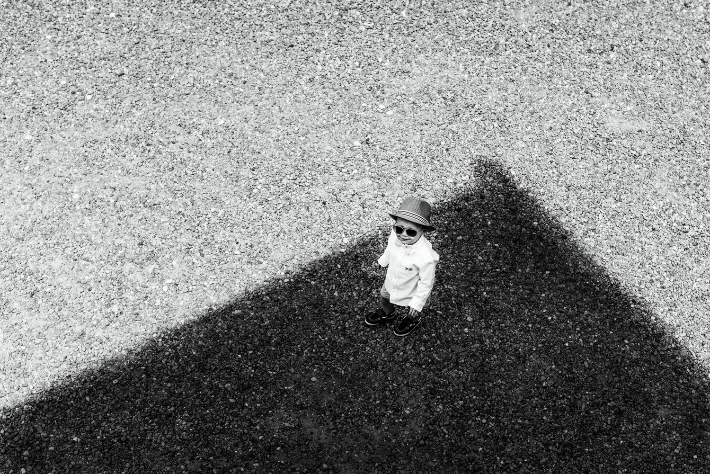 page boy wearing hat