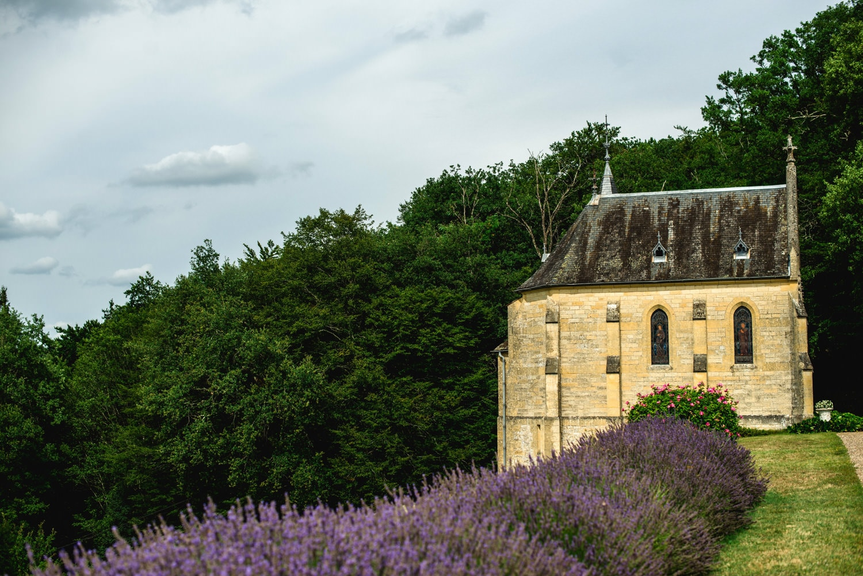 the chapel at Chateau de Lacoste France