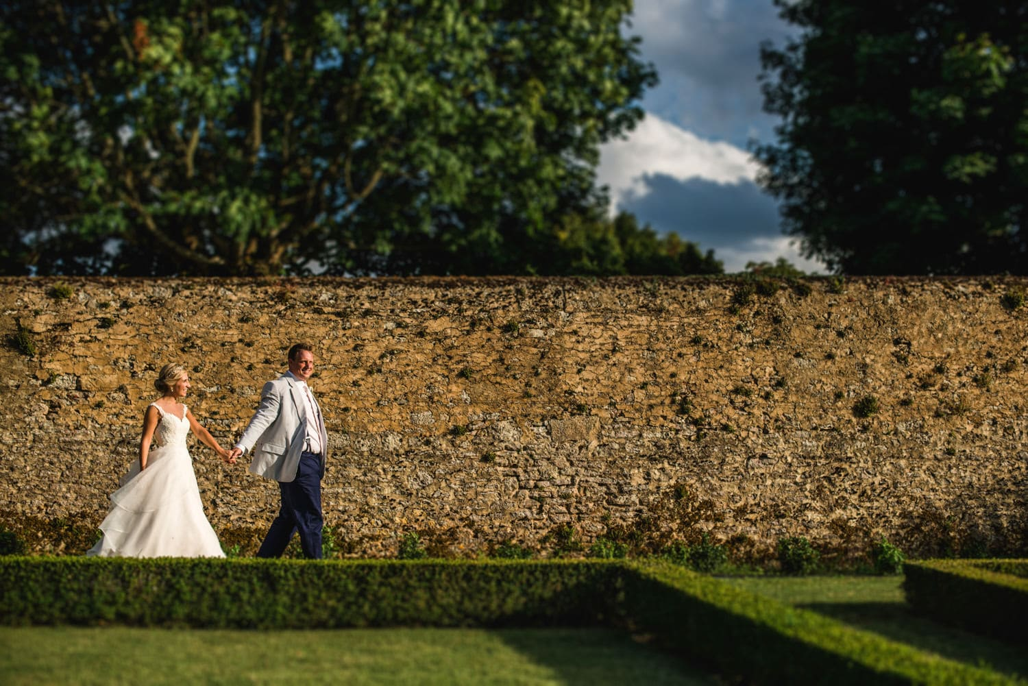 wedding portraits at Chateau de Lacoste