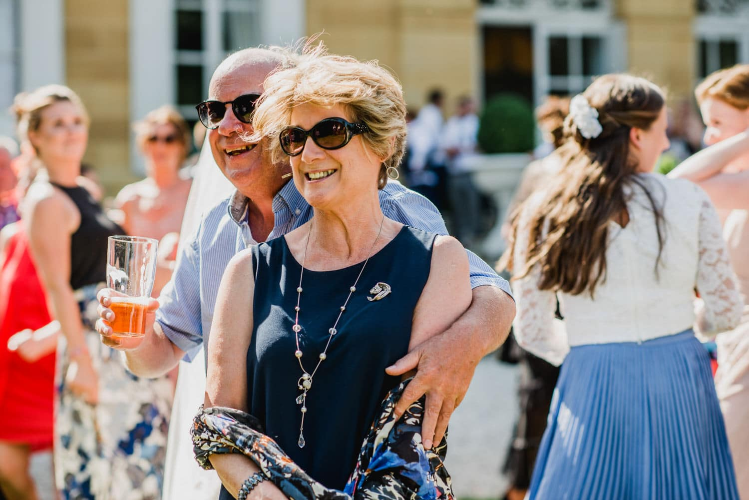 guests at Wedding in France