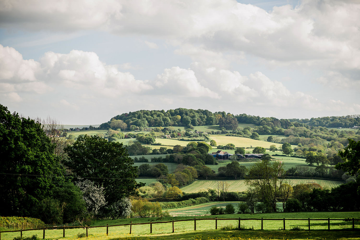 country views at Hatch House