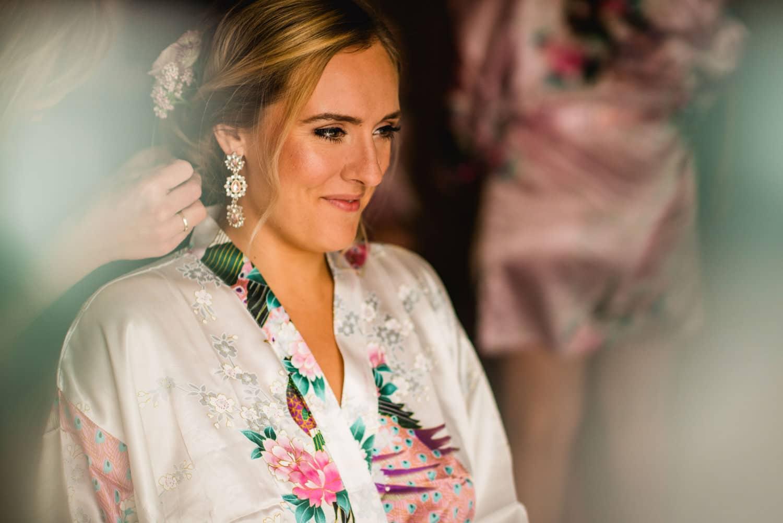 bride at Pulitzer hotel Amsterdam wedding