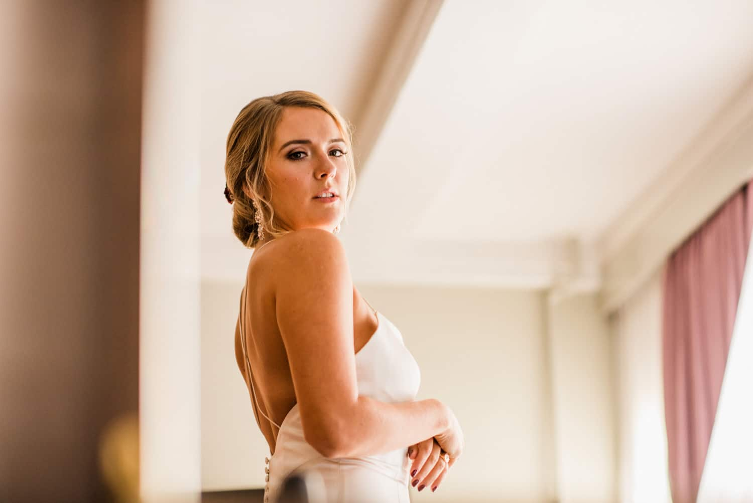 bride at Pulitzer Hotel Amsterdam
