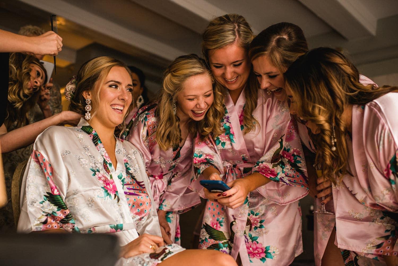 Bridesmaids at Pulitzer Hotel Amsterdam