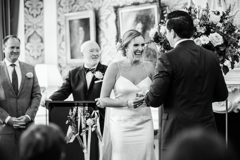 wedding ceremony at Pulitzer Hotel Amsterdam