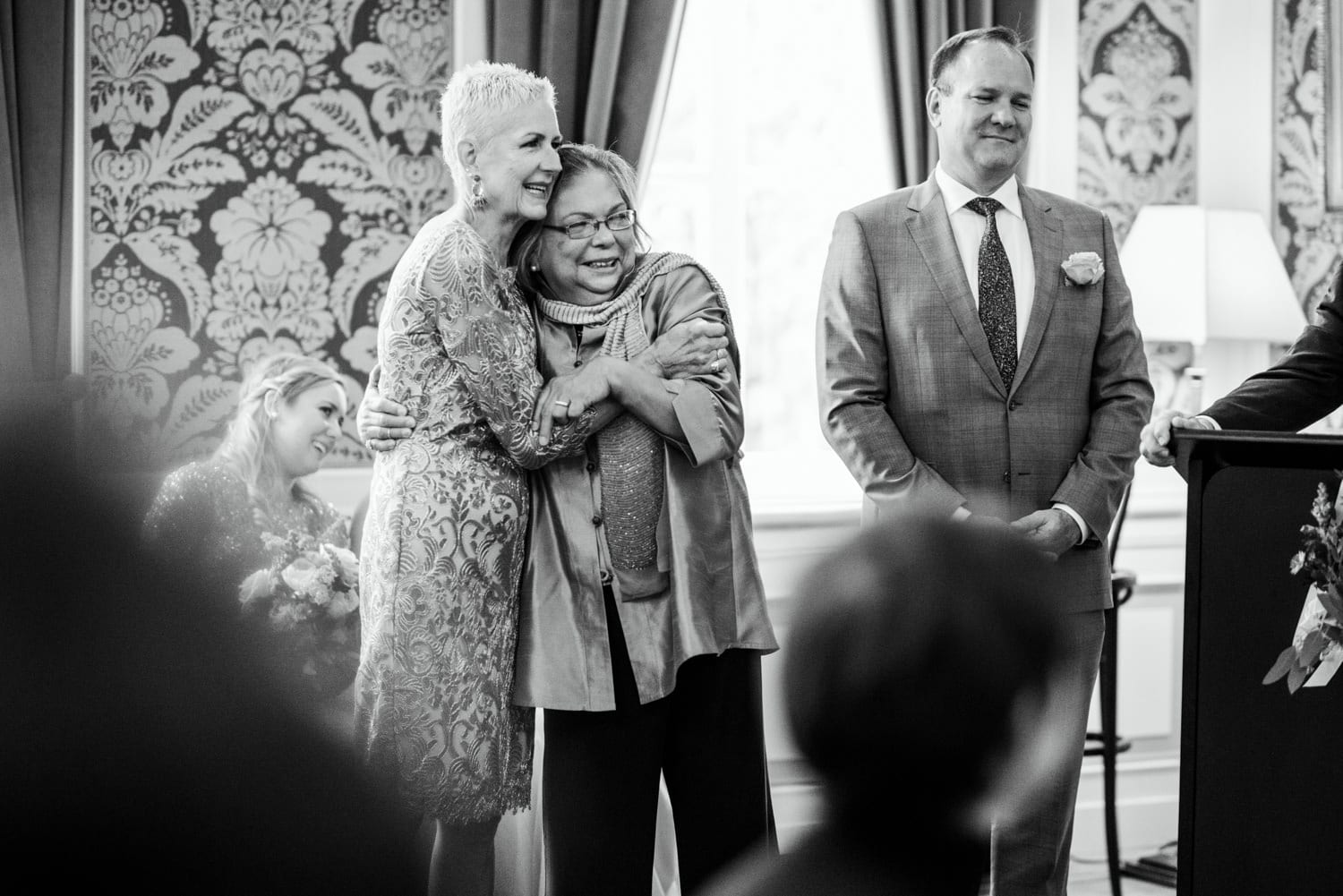 wedding ceremony at Pulitzer Hotel Amsterdam