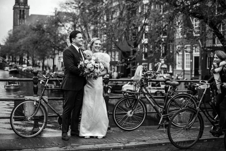 wedding portraits in Amsterdam