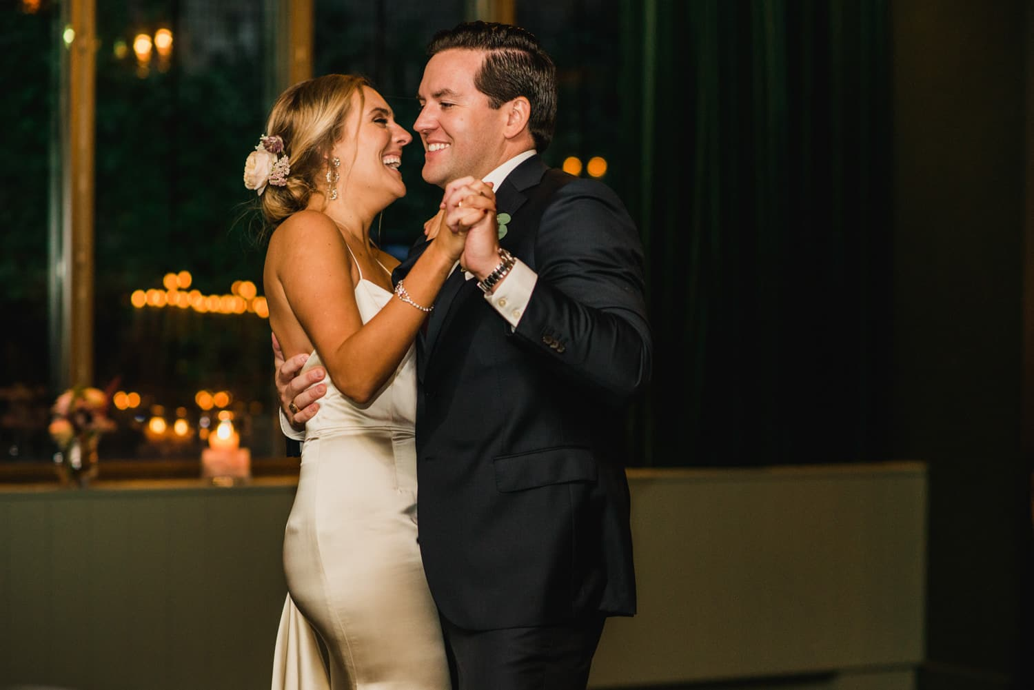 first dance at Pulitzer Hotel Amsterdam