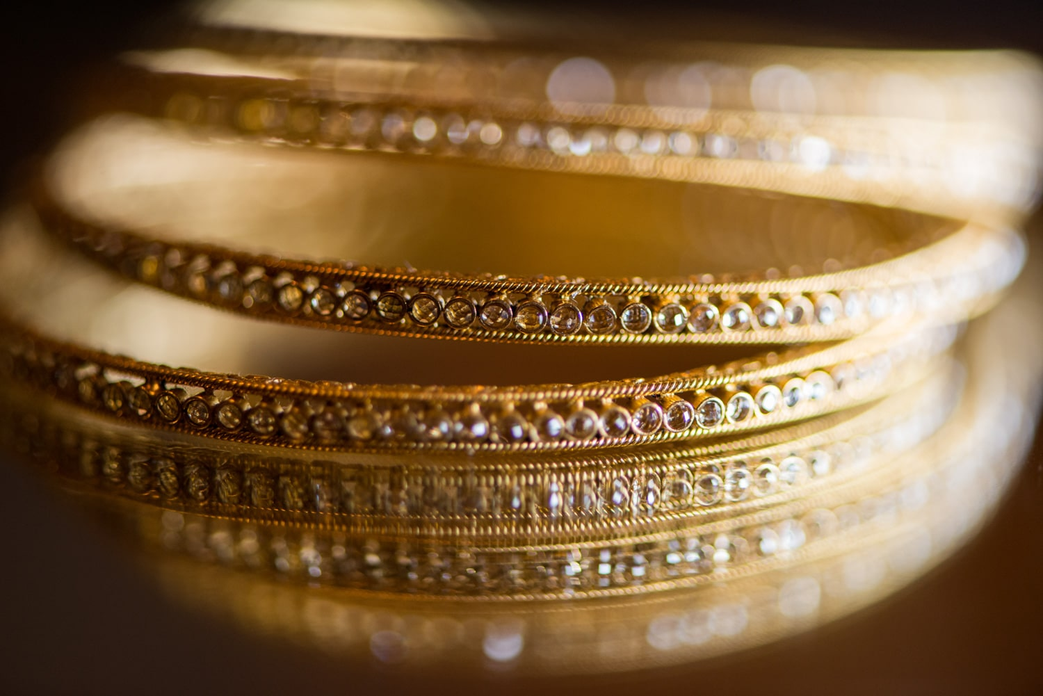 gold wedding bangles