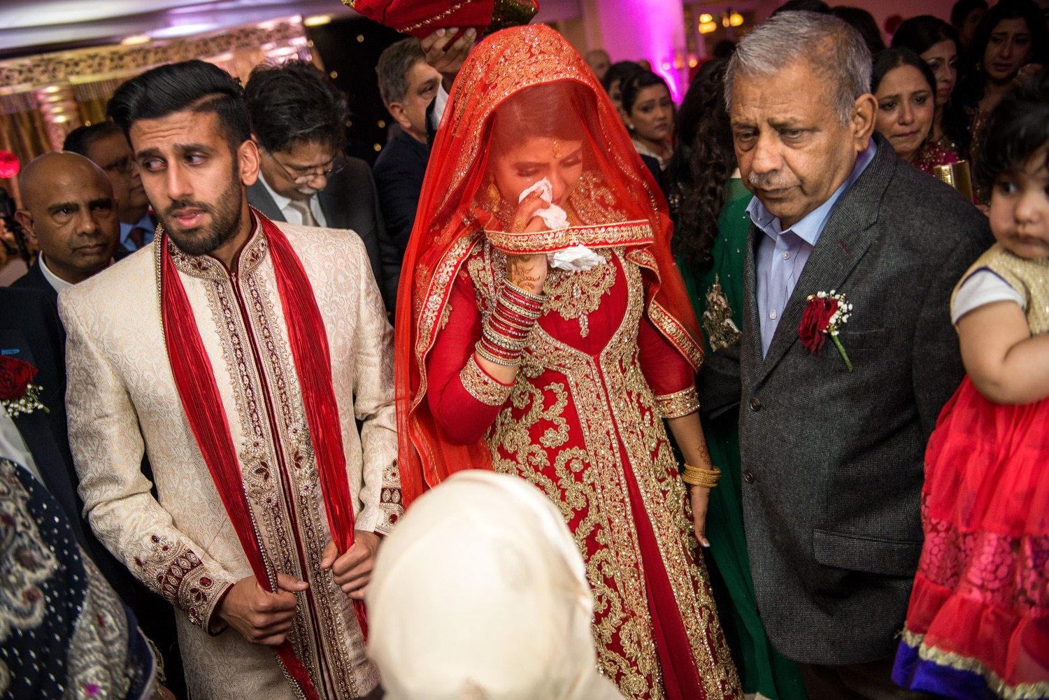 traditional muslim wedding send off