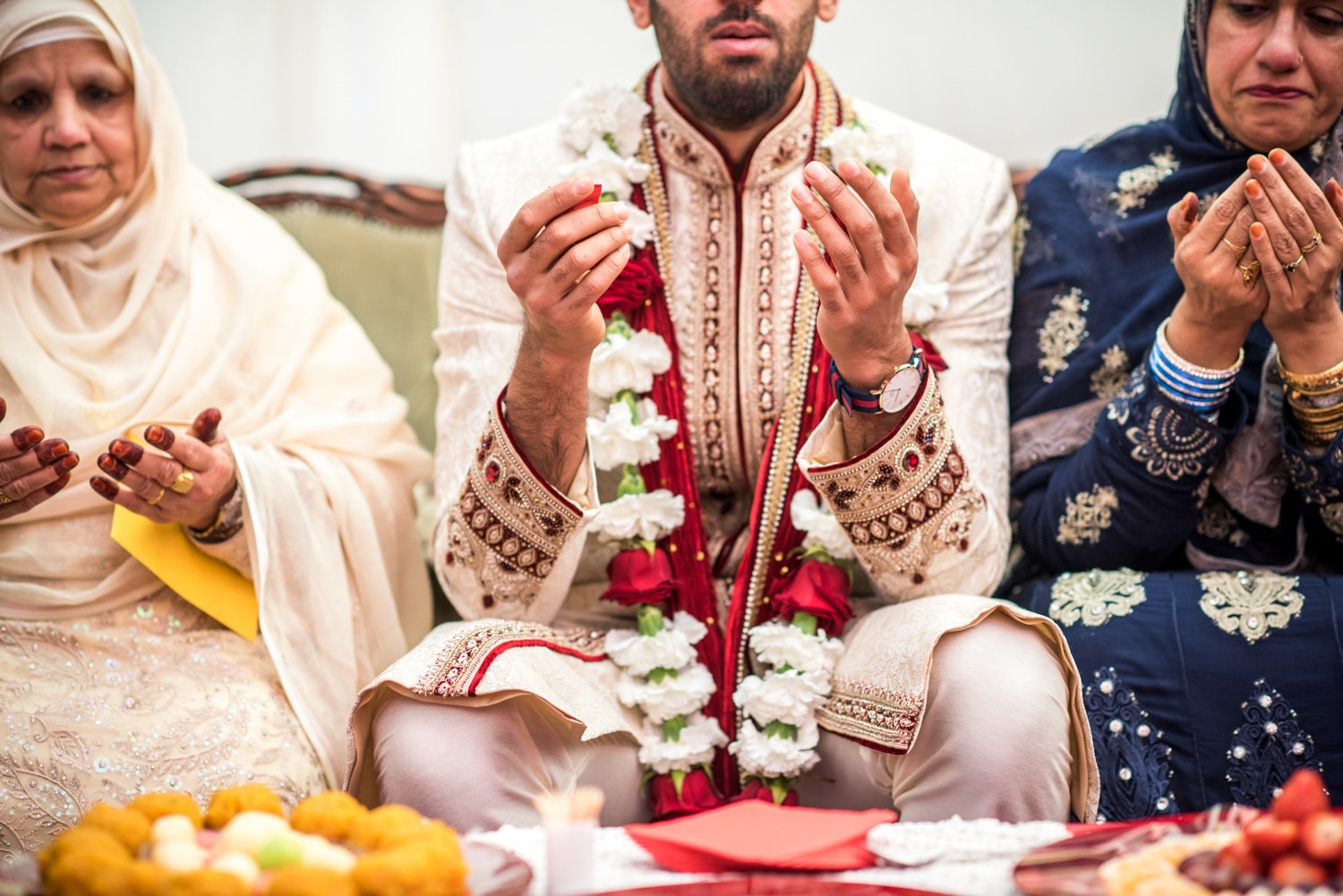 muslim wedding preparations