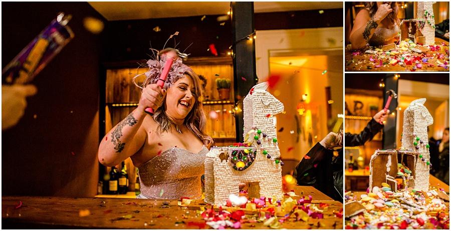Maid of Gingerbread Alternative Wedding Cakes
