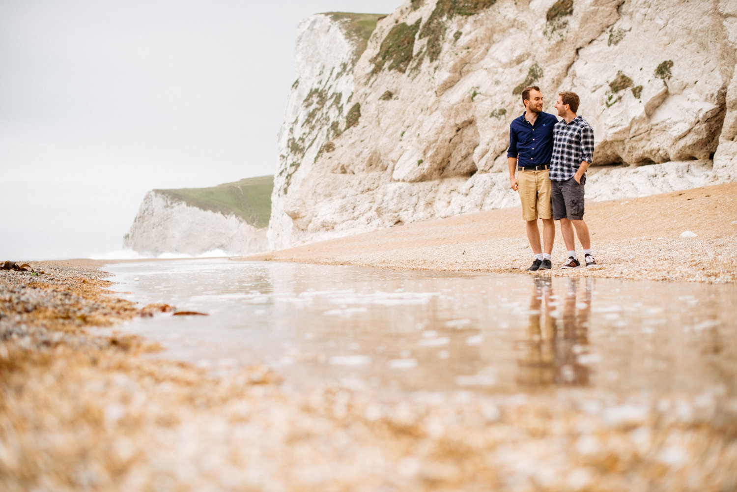 Durdle Door Engagement Session - Louise Adby Photgoraphy