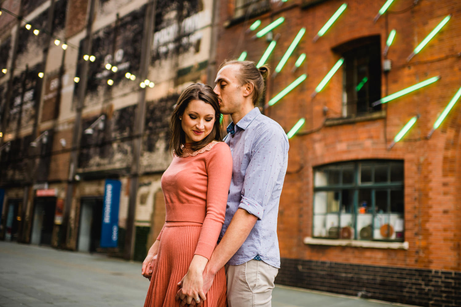 London Engagement Photography - Couple at Oxo Tower