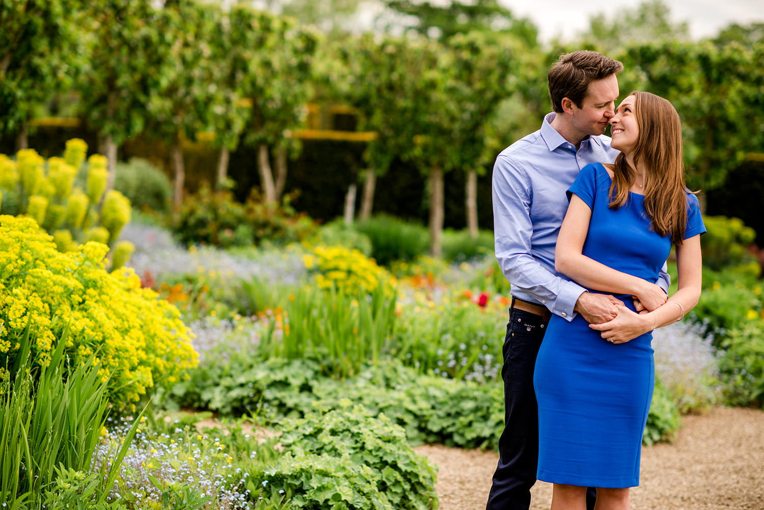 Loseley Park engagement photography