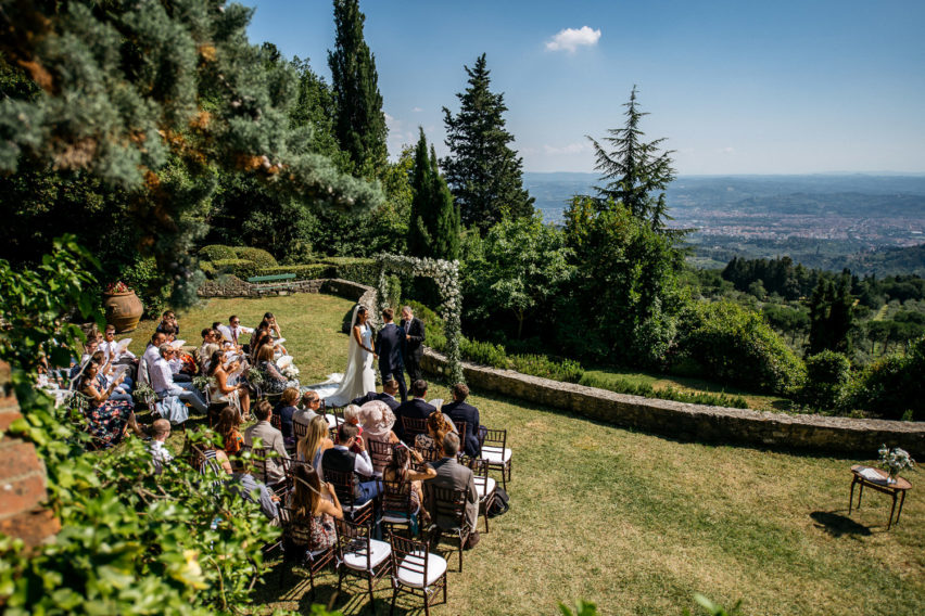 Villa Montefiano Italy Wedding