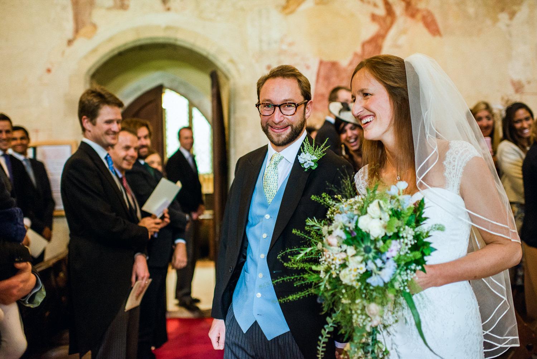 Church wedding in Hampshire